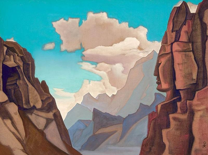 Leake Himalayas # 6 (Great spirit Himalayas). Roerich N.K. (Part 4)