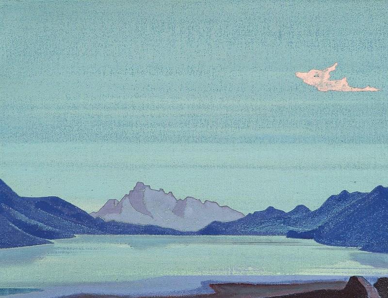 Tibetan lakes # 114. Roerich N.K. (Part 4)