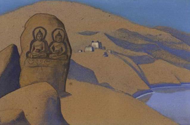 Tibet. Buddha on the road # 126. Roerich N.K. (Part 4)
