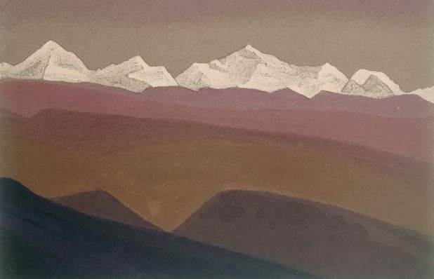 The Himalayas # 55 Mountain Suite. Roerich N.K. (Part 4)
