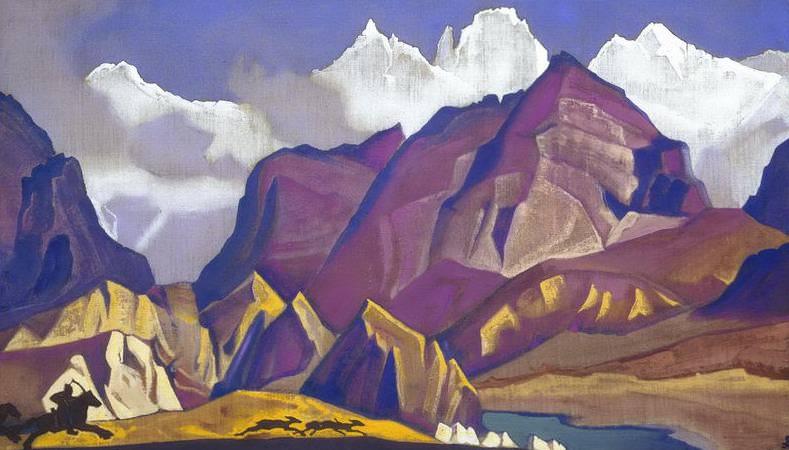 Hunt # 38. Roerich N.K. (Part 4)
