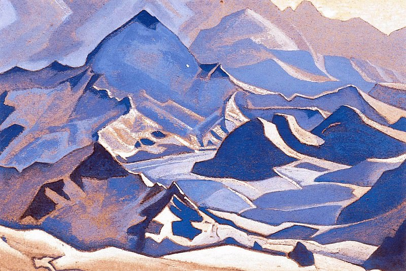 The Himalayas. Roerich N.K. (Part 4)