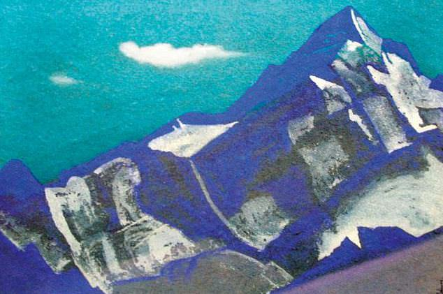 The Himalayas # 173 The Lonely Peak. Roerich N.K. (Part 4)