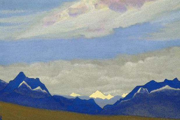 Himalayas. Morning # 224. Roerich N.K. (Part 4)