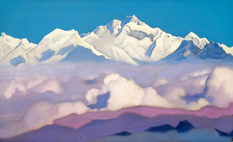 # 93 Himalaya Kanchenjunga. Roerich N.K. (Part 4)