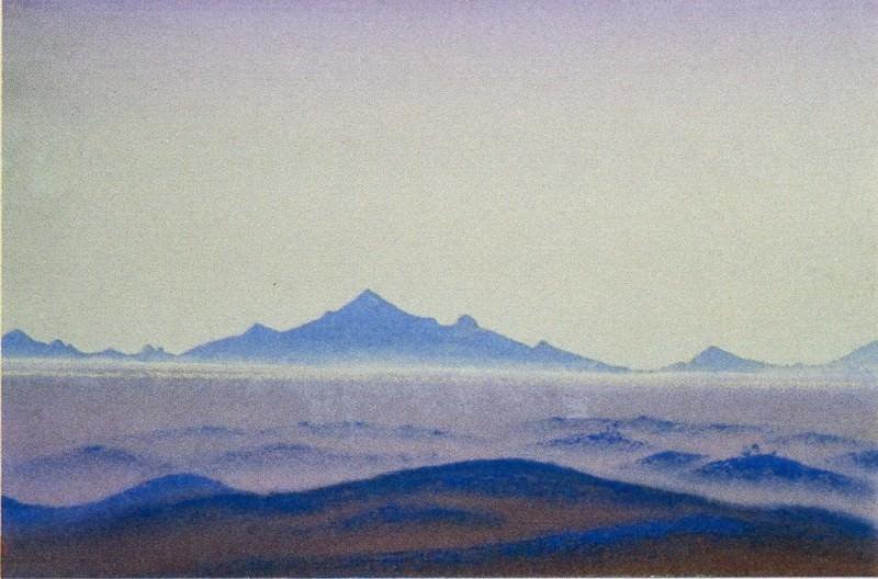 Пустыня #85 Пустыня (Дали). Рерих Н.К. (Часть 4)
