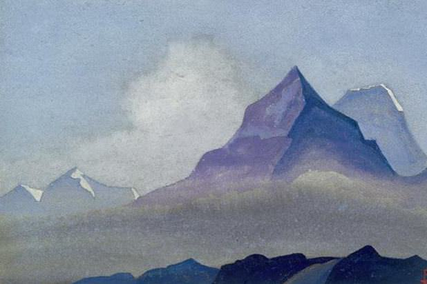 Himalayas # 77 Guardians. Roerich N.K. (Part 4)