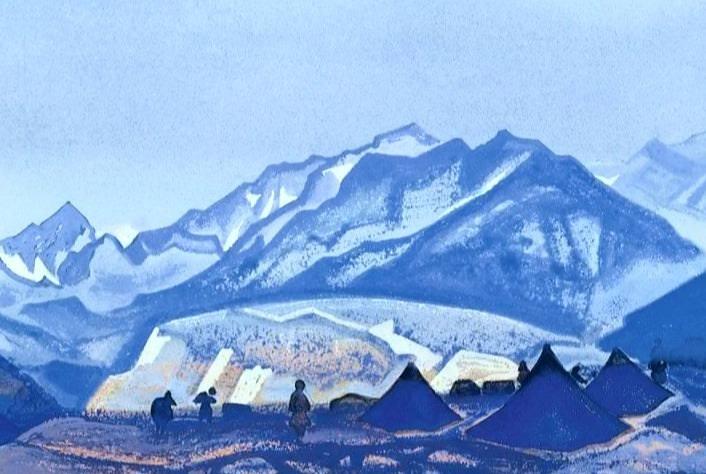 Glacier Sasser # 94. Roerich N.K. (Part 4)