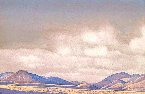 Mongolia. Hills of Chahar # 74. Roerich N.K. (Part 4)