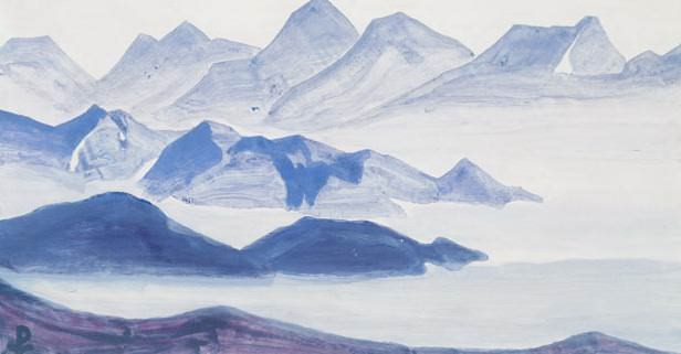 Sacred Himalayas. The sheet of the album. Roerich N.K. (Part 4)