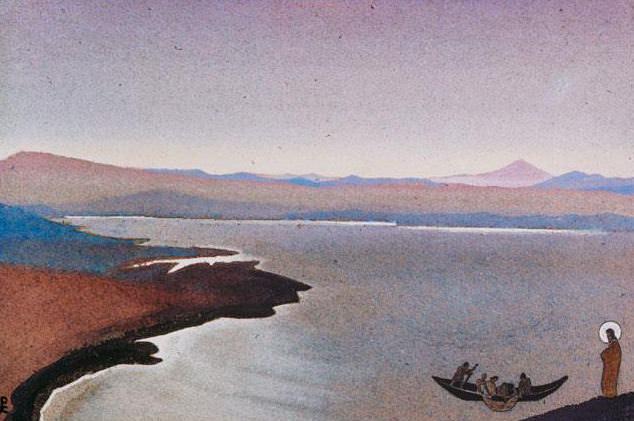 Genisaretsky catch (sketch) # 112. Roerich N.K. (Part 4)