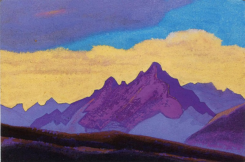 The Himalayas # 173. Roerich N.K. (Part 4)