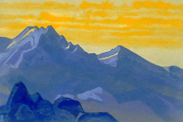 Evening # 15 Evening (Mountain arrays). Roerich N.K. (Part 4)