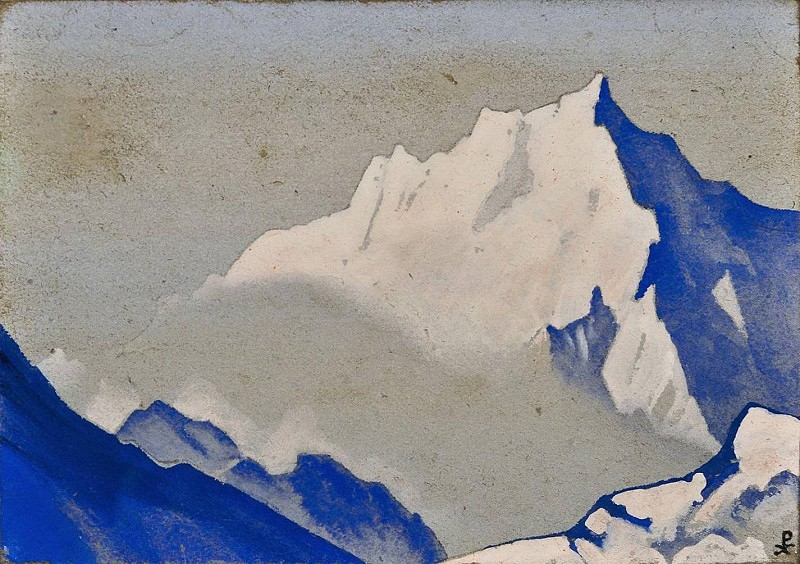 The Himalayas # 143. Roerich N.K. (Part 4)