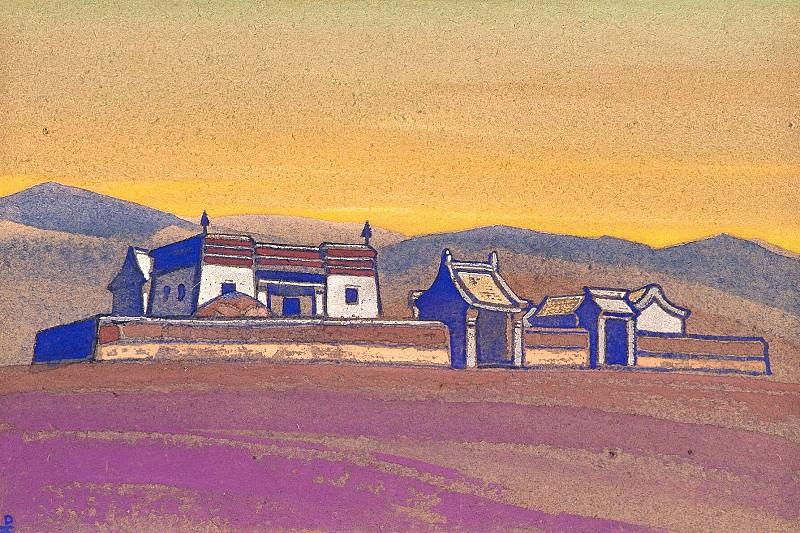 Цаган-Куре. Внутренняя Монголия. Стоянка экспедиции #168. Рерих Н.К. (Часть 4)