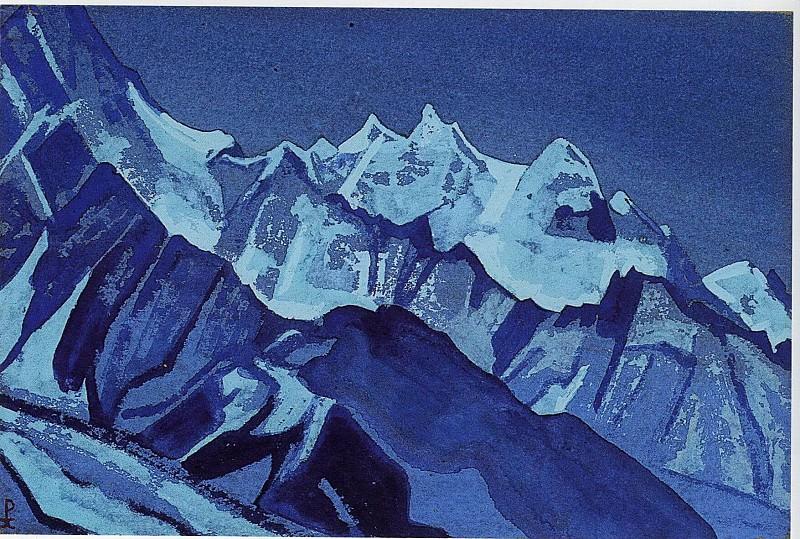 Himalayas. Roerich N.K. (Part 4)