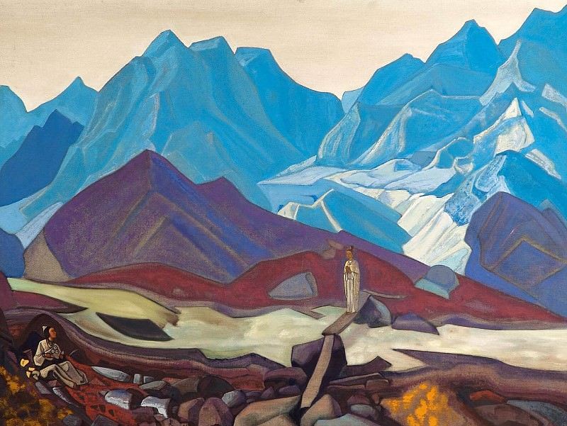 From there, # 3. Roerich N.K. (Part 4)