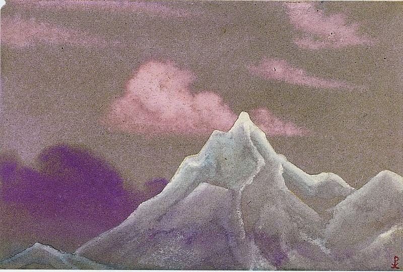 The Himalayas # 117. Roerich N.K. (Part 4)