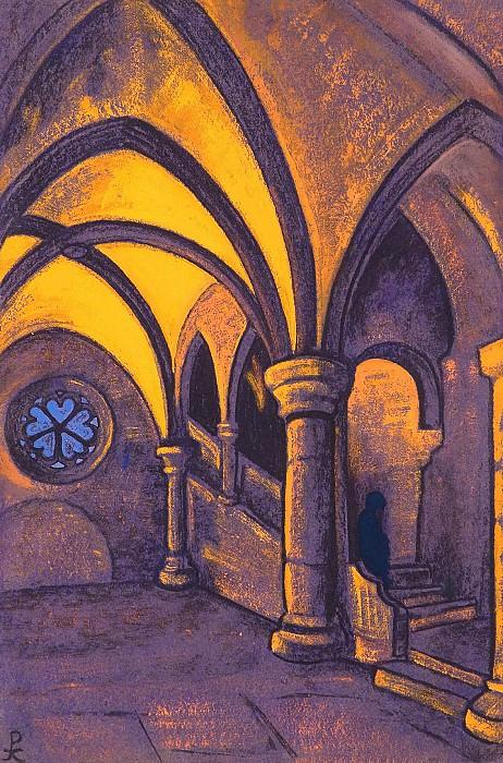 Замок Метерлинк) #47 (Замок (по мотивам драмы М. Метерлинка «Принцесса Мален»). Рерих Н.К. (Часть 4)