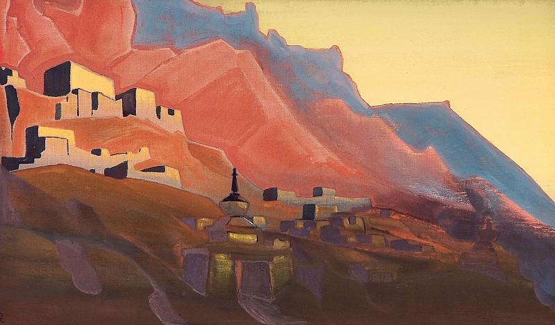 "Sunset ( ""Ladak"" -series) # 19 (Ladakh. Sunset). Roerich N.K. (Part 4)"