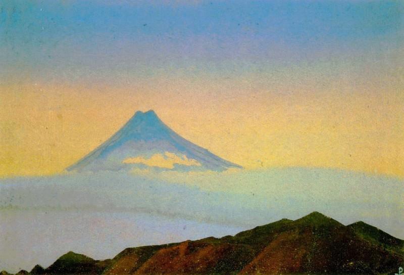 Fuji # 214 (Fuji). Roerich N.K. (Part 4)