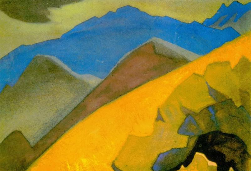 Golden Slope. Roerich N.K. (Part 4)