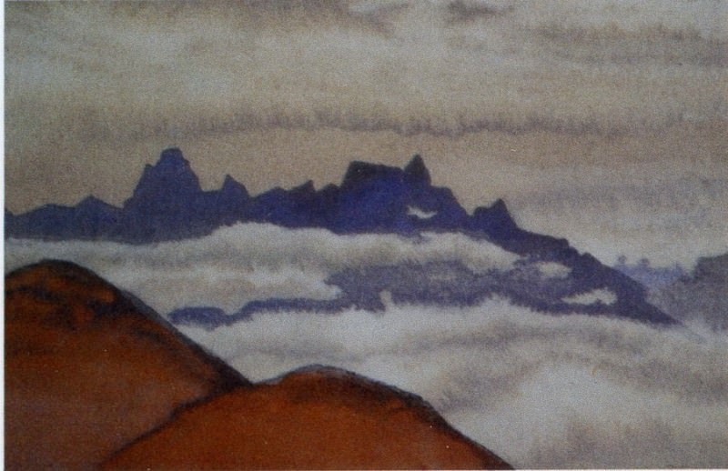 Гималаи. Туман #229. Рерих Н.К. (Часть 4)