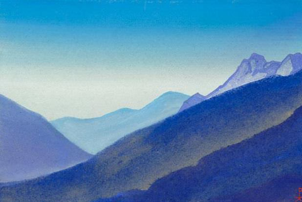 The Himalayas # 206 The mountain was given. Roerich N.K. (Part 4)