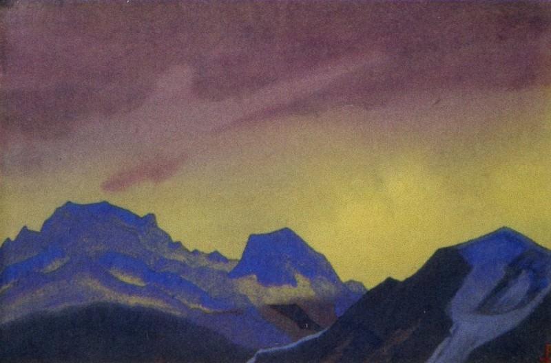 Rain - Himalaya Himalaya # 161. Blue Cliffs. Roerich N.K. (Part 4)