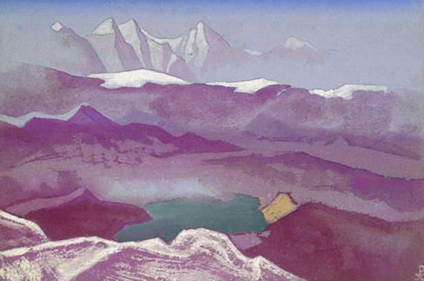Корайдо #133 Корайдо (Видение горных снегов). Рерих Н.К. (Часть 4)