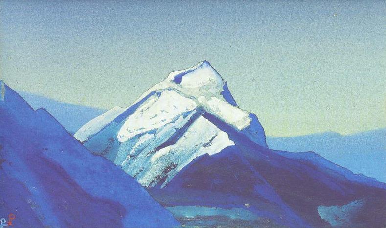 Гималаи #215 Одинокая вершина. Рерих Н.К. (Часть 4)