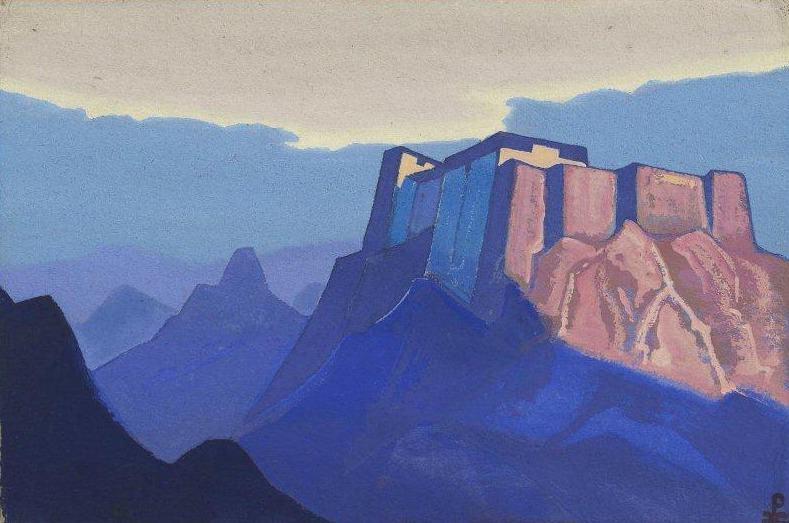 Tibet. Mountain abode. Roerich N.K. (Part 4)