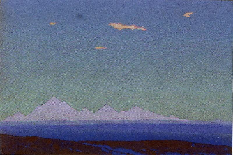 Tian Shan. Roerich N.K. (Part 4)