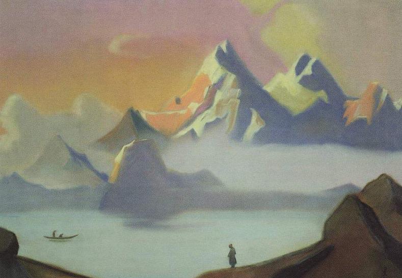 Tibet. Roerich N.K. (Part 4)