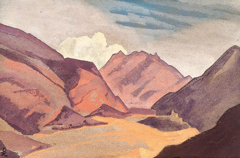 Baltistan. The border with Ladakh # 143. Roerich N.K. (Part 4)