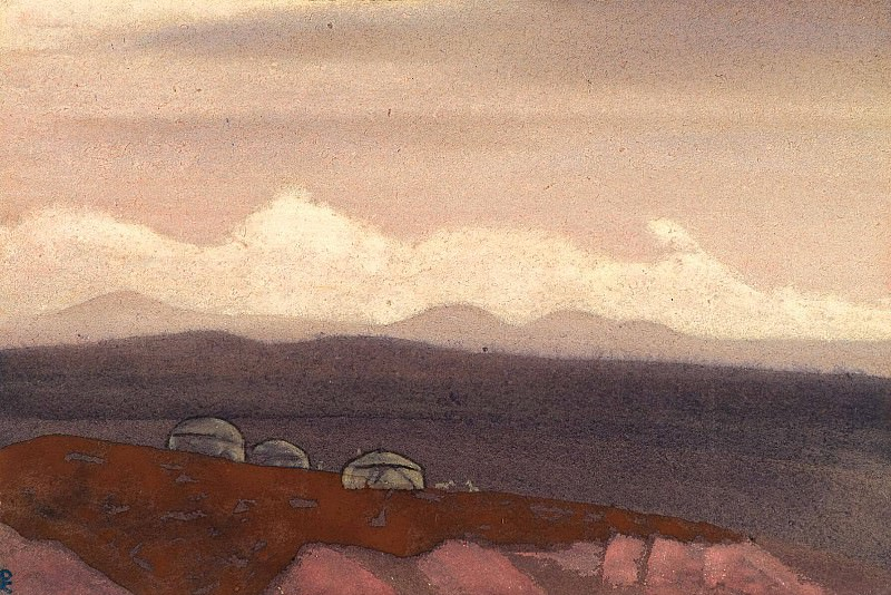 Mongolia (Soykan) # 156 (Mongolia. Suneet). Roerich N.K. (Part 4)