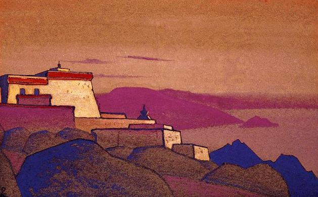 Tibet. Convent gelukpa # 172. Roerich N.K. (Part 4)
