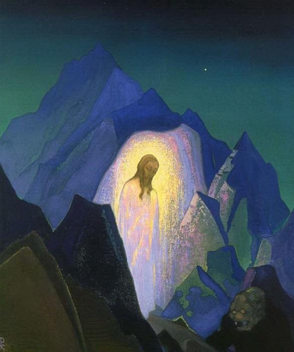 Christ desert # 70. Roerich N.K. (Part 4)