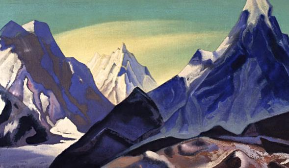Morning (Central Himalayas). Roerich N.K. (Part 4)