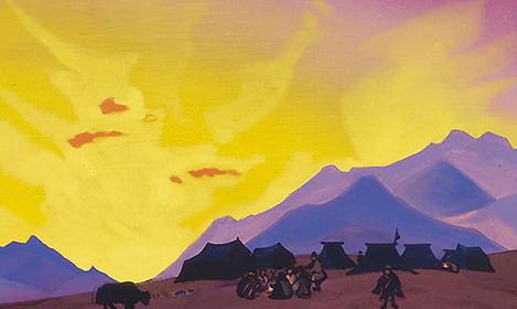 Tibetan Camp # 30. Roerich N.K. (Part 4)