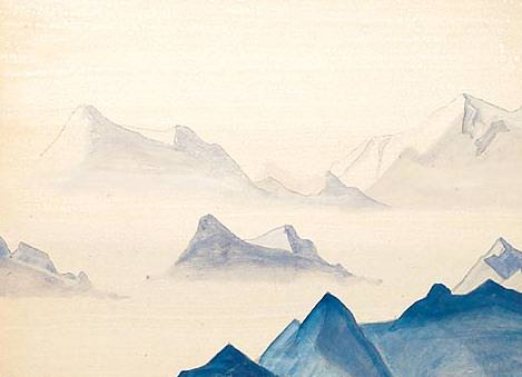 The Himalayas (Etude). Roerich N.K. (Part 4)