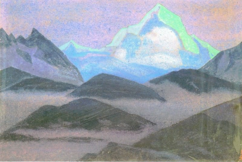 Mountain night. Roerich N.K. (Part 4)