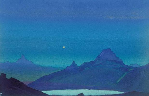 Silence (sketch) # 59 (Silence. Sketch). Roerich N.K. (Part 4)