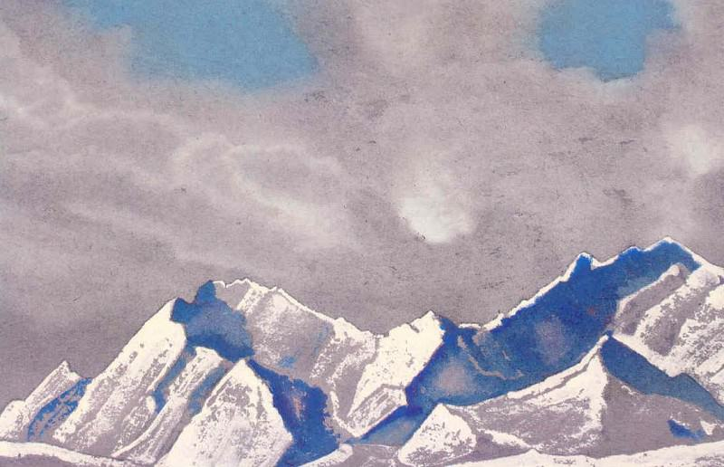 The Himalayas # 208. Roerich N.K. (Part 4)
