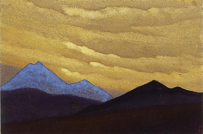 The Himalayas # 125. Roerich N.K. (Part 4)
