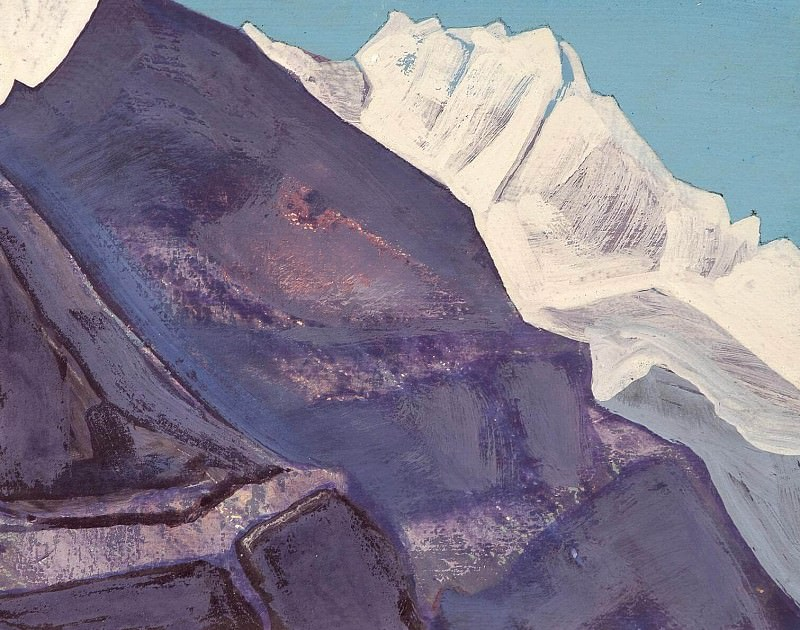 Mount (sketch) # 81. Roerich N.K. (Part 4)