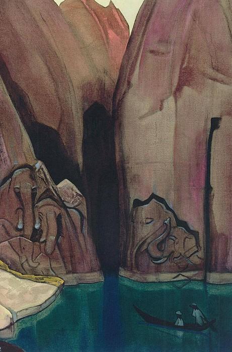 Ellora (Ashram). Roerich N.K. (Part 4)