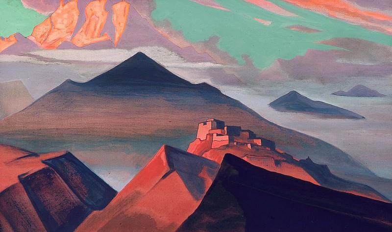 Святые горы #28 (Гора Шатровая. Из серии «Святые горы»). Рерих Н.К. (Часть 4)