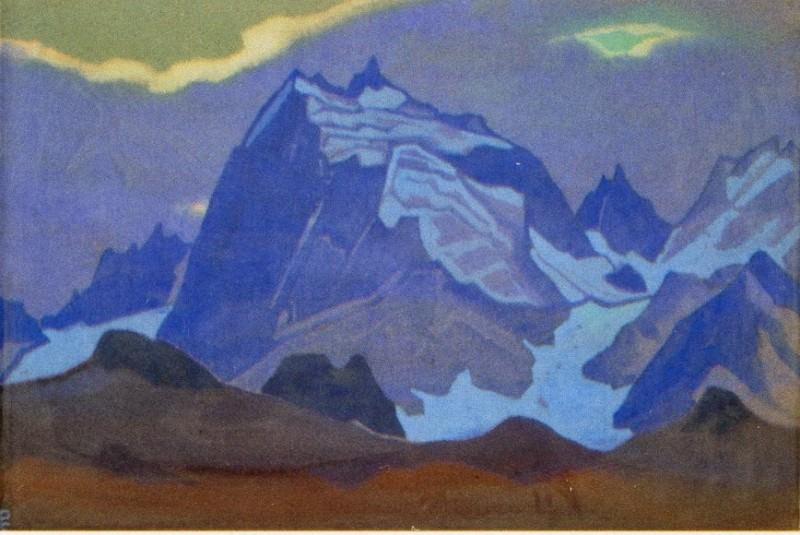 Evening # 169 (Gromada blue rocks). Roerich N.K. (Part 4)