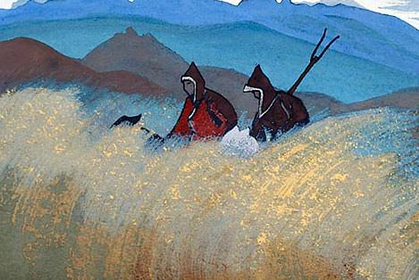 Lama-reapers. Roerich N.K. (Part 4)